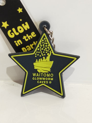 *Glow in the dark Star Keyring WGC