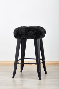 STOLLASUN Tolix Stool Cover - Black