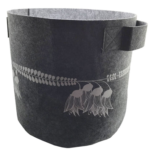 Kowhai  Mid Grey 7 Gallon Felt  Planter