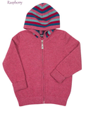 NB712 Kids Striped Zip Hoodie