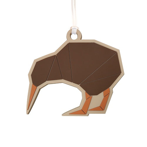 Bag Tag Geometric Kiwi