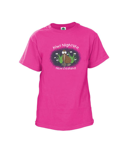 FT57546 Kids Kiwi Nightlife T-shirt