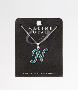 *PJSN Necklace Letter N-Silver