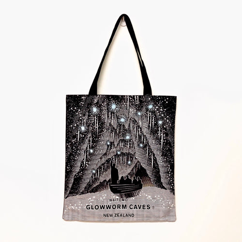 Cotton Bag Waitomo Glowworm Caves Design