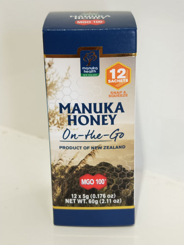 MGO 100+ Manuka Honey 5g (12 snack pk)
