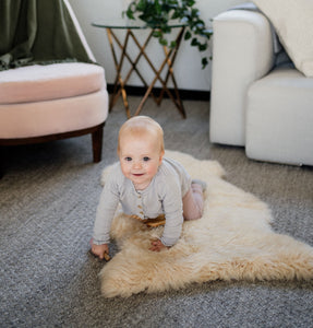 INCALHOSL Infant Care Rug - Honey