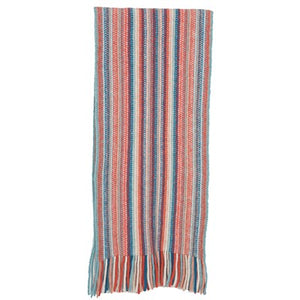 NX378 Multi Striped Scarf