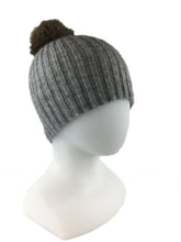 Load image into Gallery viewer, NX742 Possum Fur Pompom Beanie