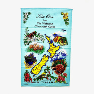 100% Cotton Tea Towel Kia Ora
