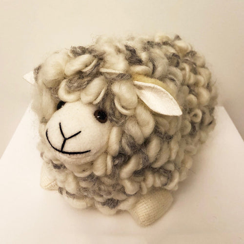 WOOLBERTB Textured Wool Loop Sheep