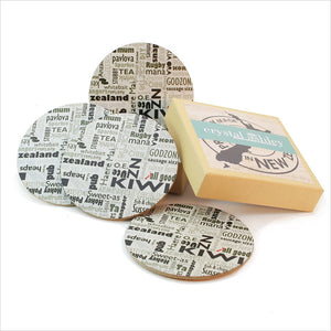 Coasters - Newspaper round