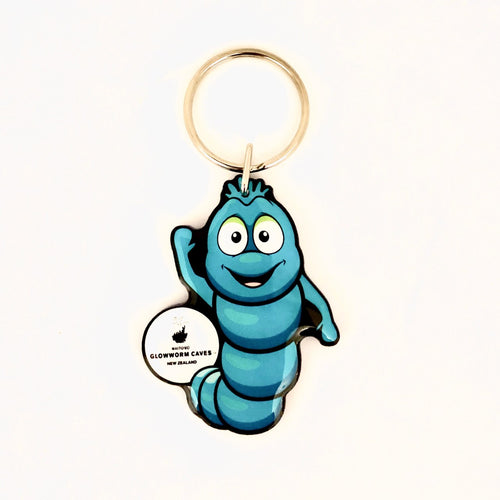 Waitomo Glowworm Cartoon Key Ring