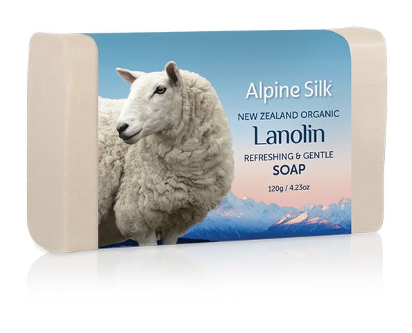ASO110 Organic Lanolin Refreshing Gentle Soap