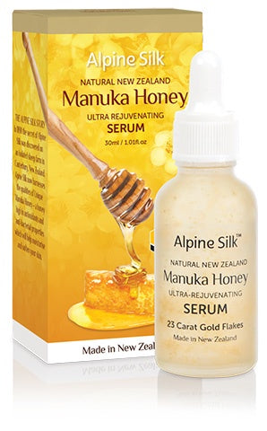 ASM206 Alpine Silk Manuka Rejuvenating Serum 30ml Bottle