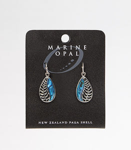 MOE82 Earring Teardrop Fern
