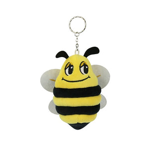 Key Ring Plush Cute Bee