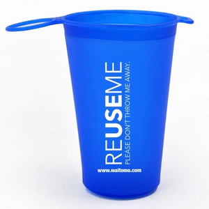 Reusable and Collapsible Drink Cup