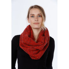 Load image into Gallery viewer, NX808 Dot Inlay Scarf - Mohair Blend