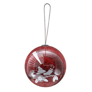 Christmas Decoration Ruby Fantail