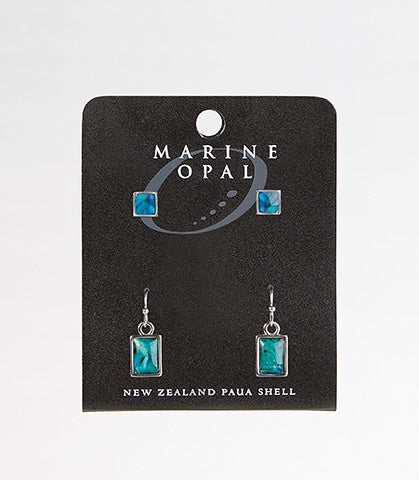MOE94 Earring Square and Oblong
