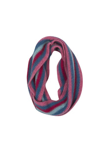 NX709 Kids Striped Loop Scarf
