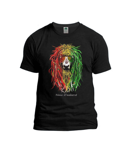 GT53698 Black Rasta Sheep Shirt