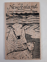 Load image into Gallery viewer, On1/3 Sheep Wooden Postcard