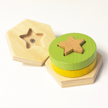 Load image into Gallery viewer, Glowworm Stacking Toy - 14pce