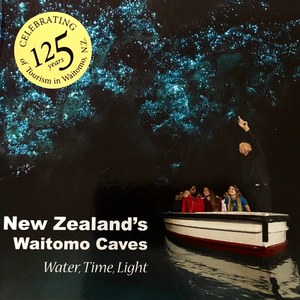 Waitomo Caves Water Time Light book