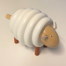 Load image into Gallery viewer, Sheep Wooden Toy - 7 pce