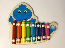 Load image into Gallery viewer, Bluey Xylophone wooden