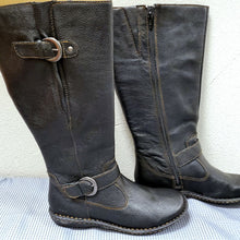 Load image into Gallery viewer, B.O.C. Tall Black Leather Riding Boots