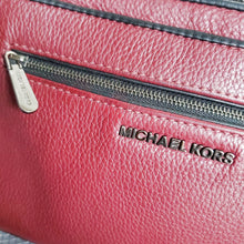 Load image into Gallery viewer, Michael Kors Burgundy Pebbled Leather Purse
