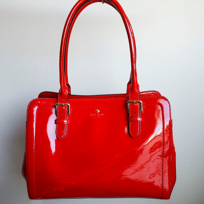 Candy Apple Red Kate Spade Shoulder  Bag