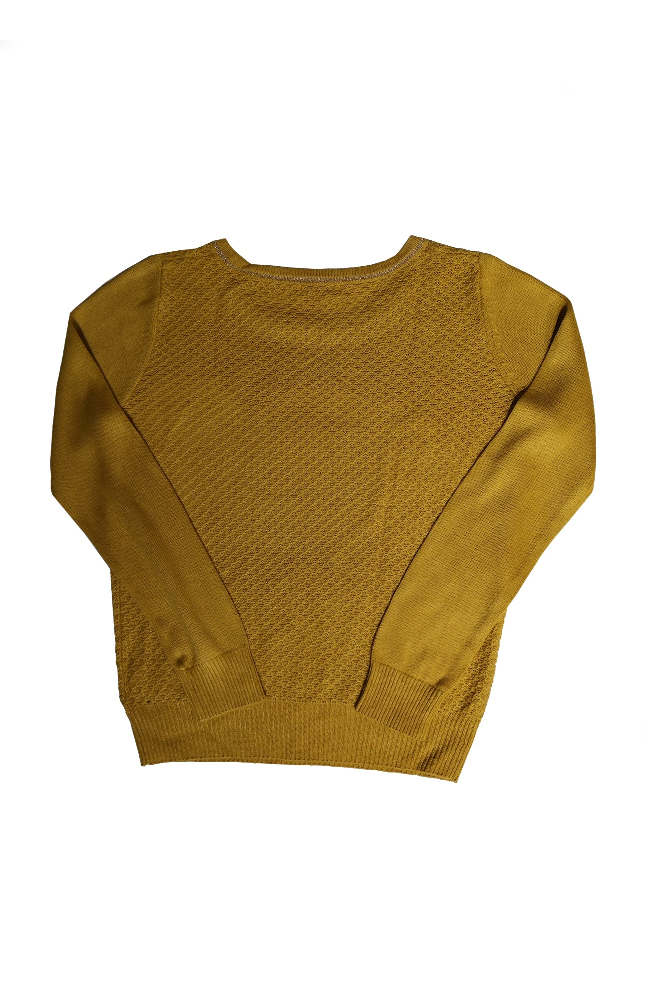 Index Mustard Yellow Long Sleeve Top (M)