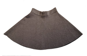 Grey Woolen Mini Skirt (S)