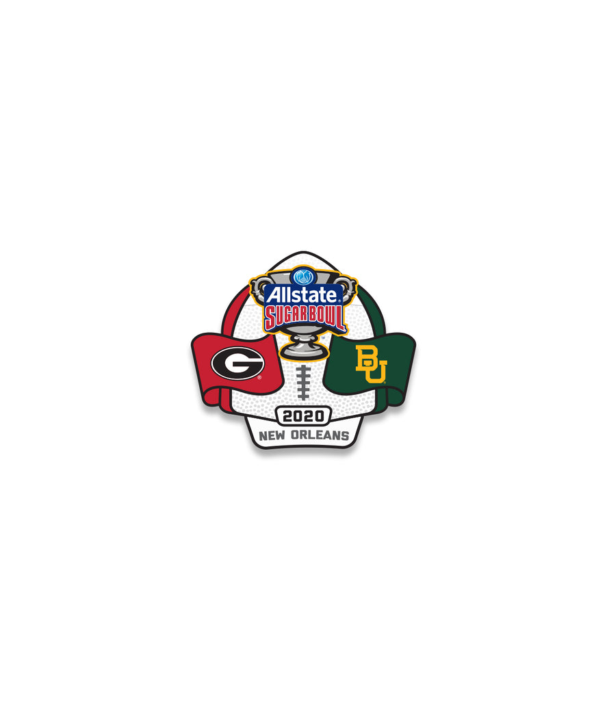 2020 Allstate Sugar Bowl Lapel Pin