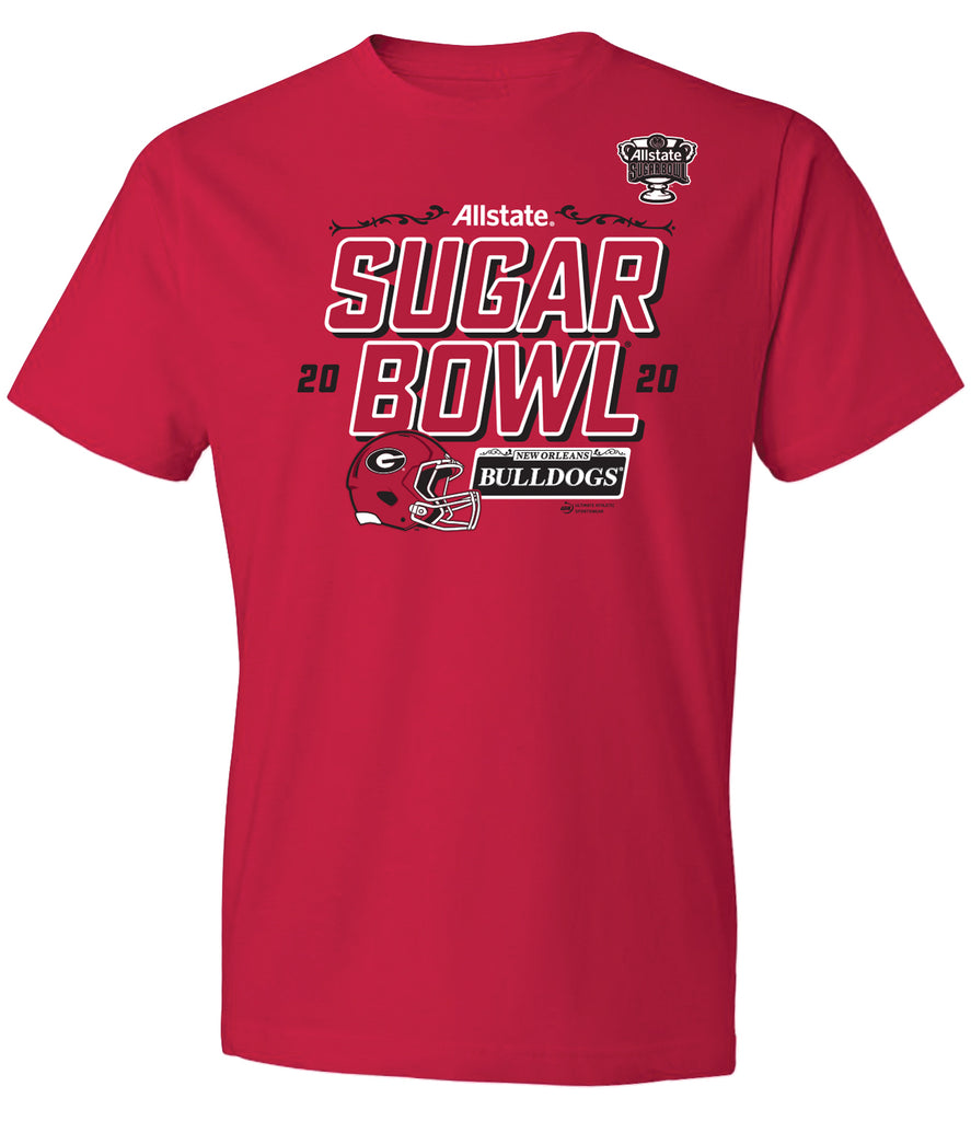 2020 Allstate Sugar Bowl Georgia Short Sleeve T