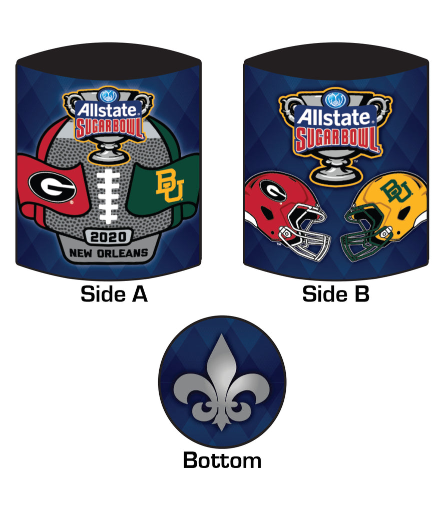 2020 Allstate Sugar Bowl 12oz Koozie