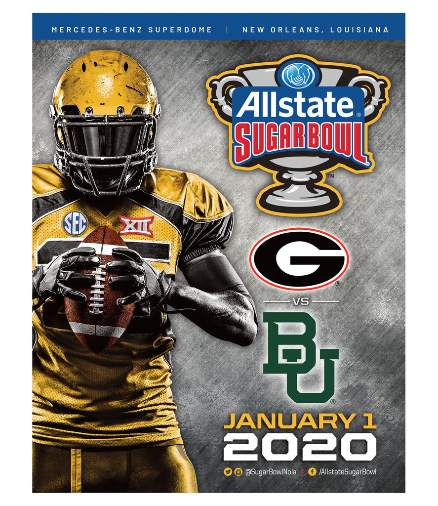 2020 Allstate Sugar Bowl Game Program