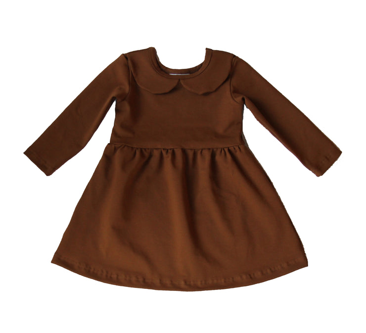 POIU Dress, Cinnamon