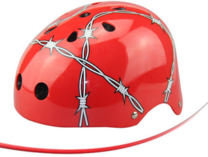 Barbed Wire Helmet