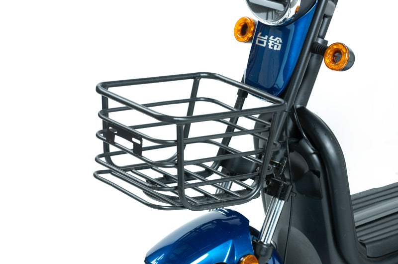 Z8 Professional Commuter Blue eBike Front Basket