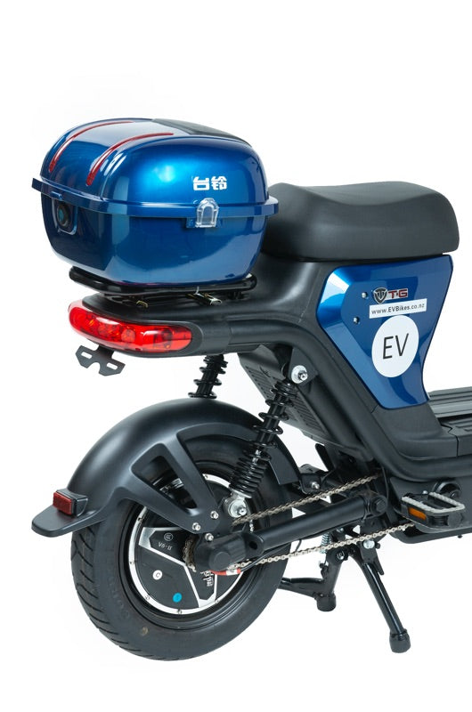 Z8 Professional Commuter Blue eBike with Rear Carry Box Option