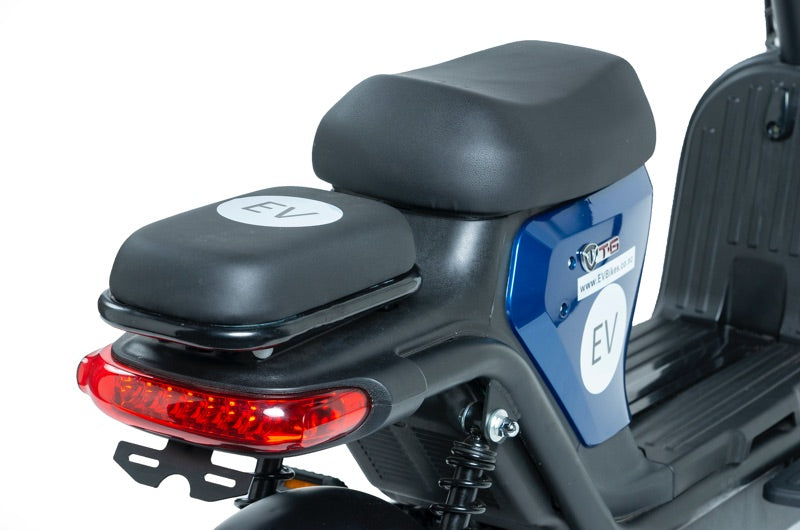 Z8 Professional Commuter Blue eBike Double Rear Seat Option
