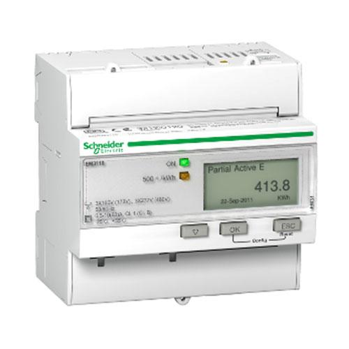 Schneider Electric  Acti 9 Iem3110 Rail Mount Energy Meter 63A Pulse Mid