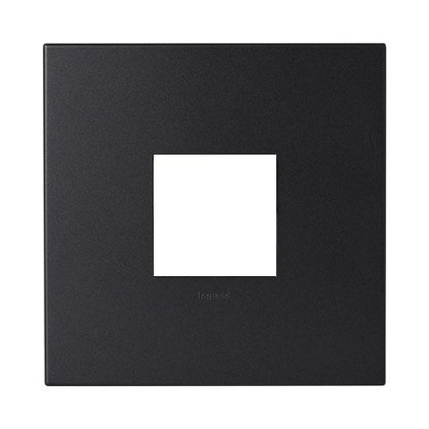 Legrand Arteor Cover Plate 2 Modules 4 x 4 - Graphite