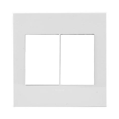 Legrand Arteor Cover Plate 2 x 3 Modules 4 x 4 - White