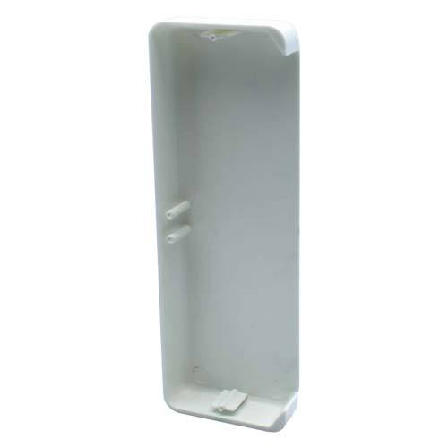 Decorduct 2 Compartment End Cap White