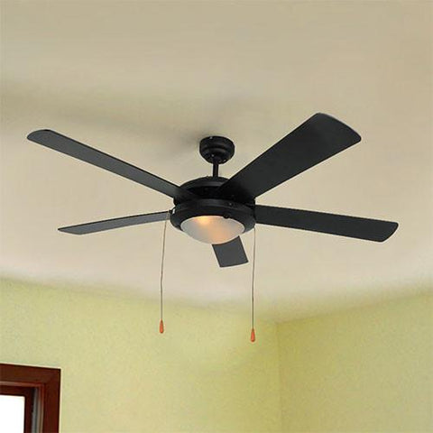 Eurolux Comet Ceiling Fan With Light